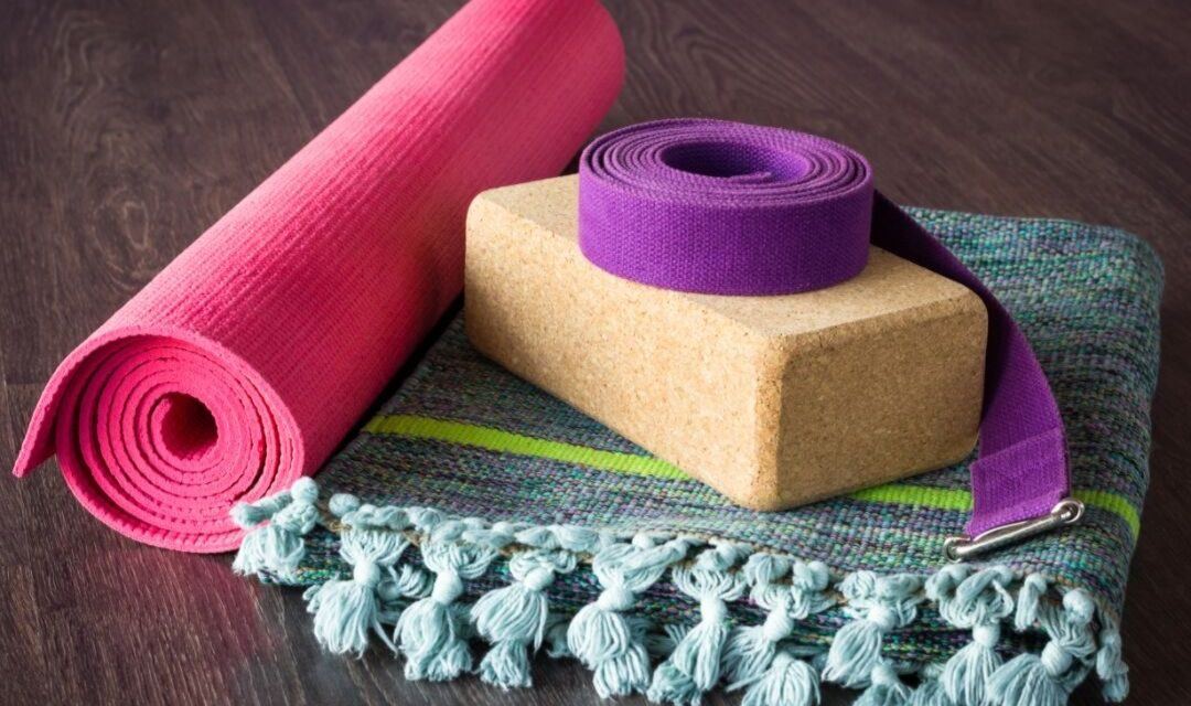 Props for your home practice